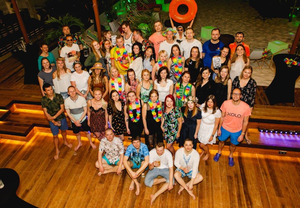 Image of Xolo's team