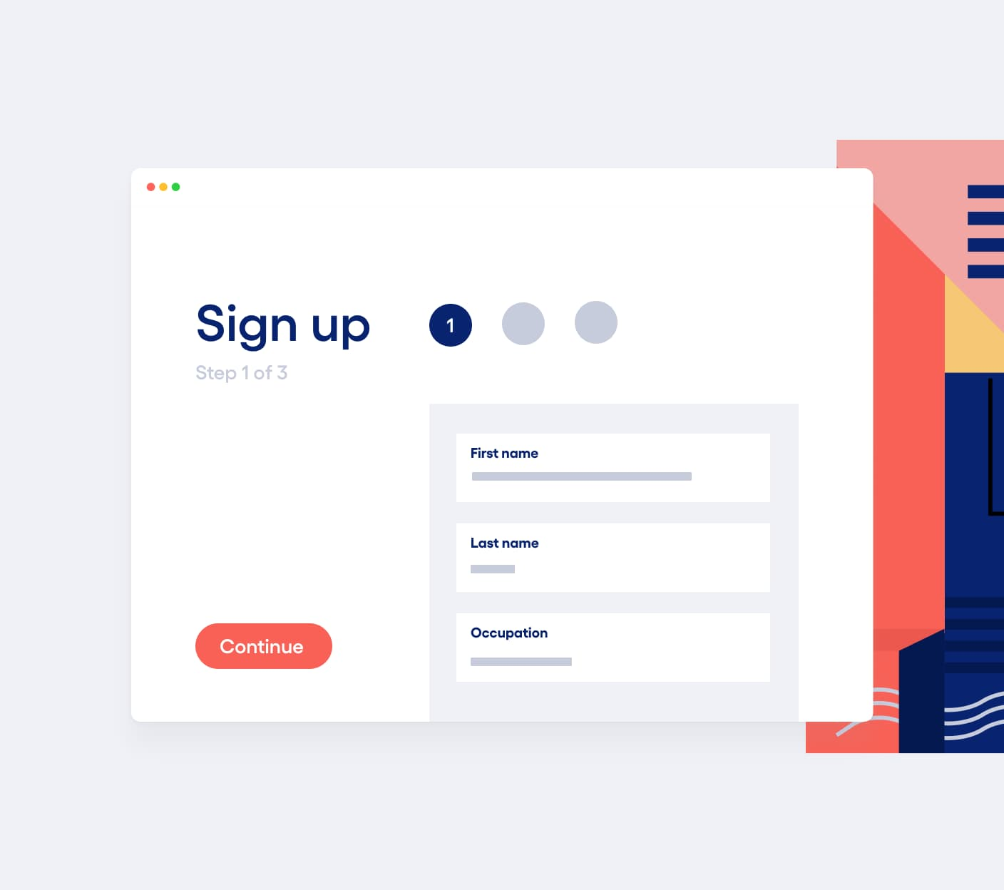 Image of sign up