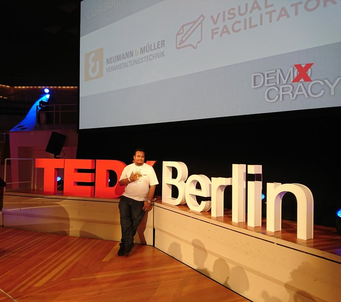Asad at TedxBerlin