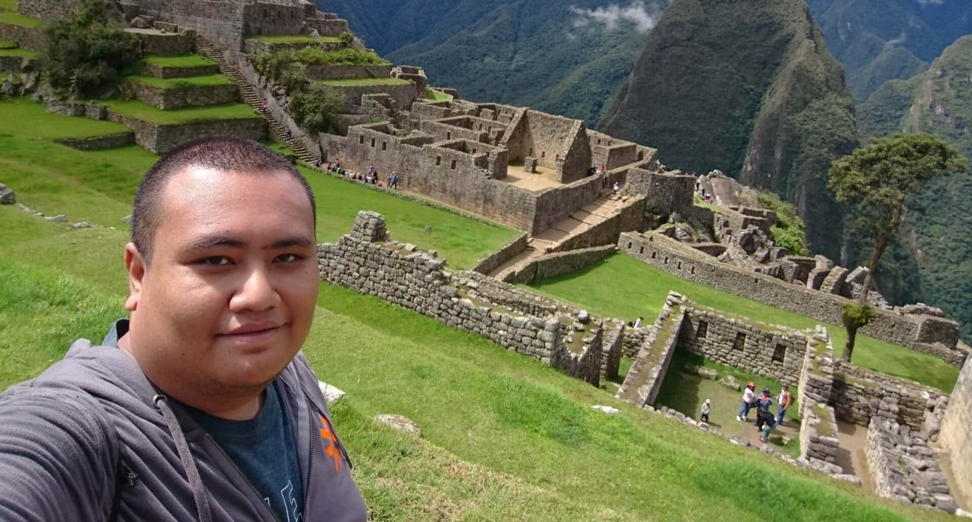 Asad at Machu Picchu