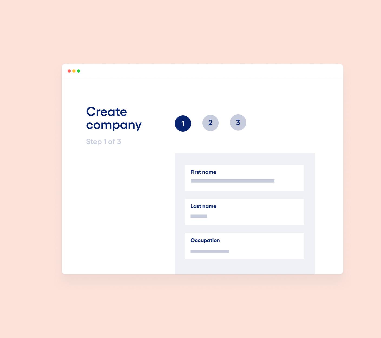 Company registration image