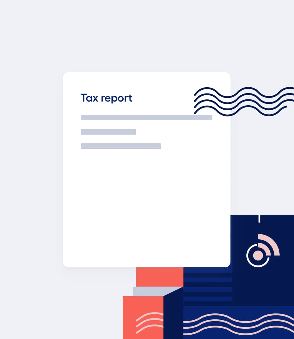 Image of tax report