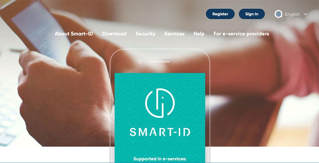 SmartID homepage