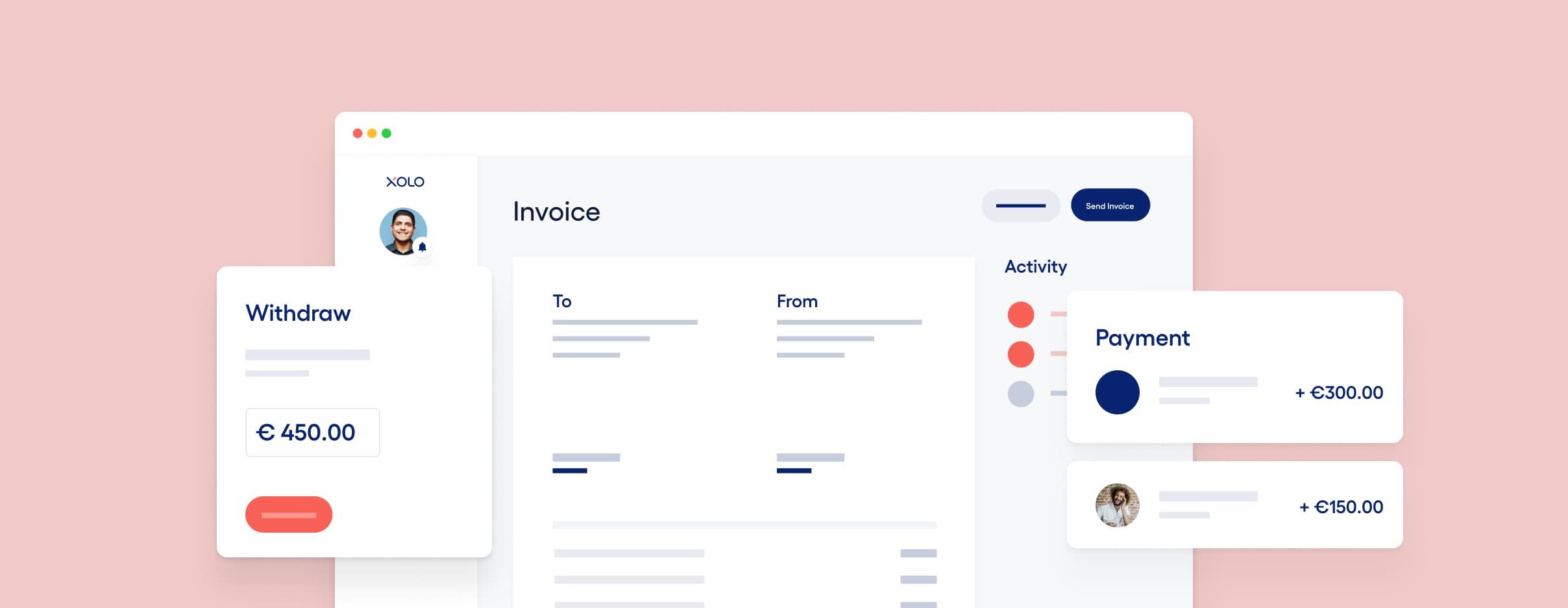 Image of Xolo's invoice