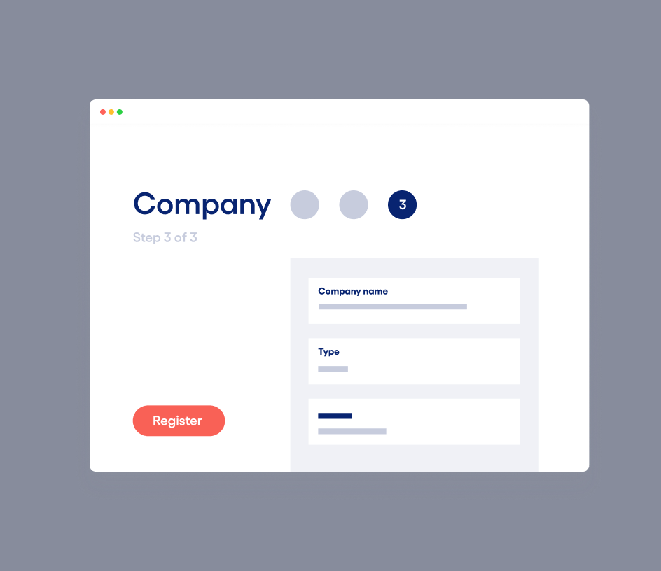 Register a new EU company online