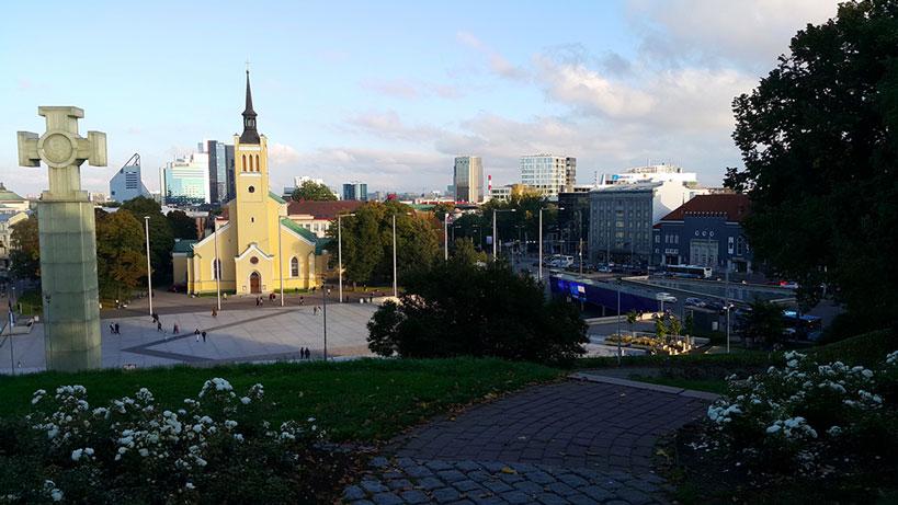 Freedom Square in Tallinn